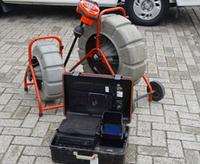 Riool camera inspectie met opname apperatuur