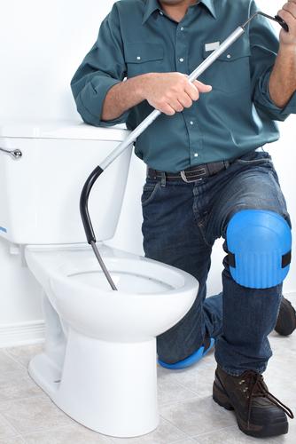 Verstopt wc verhlpen door PCS Totaal